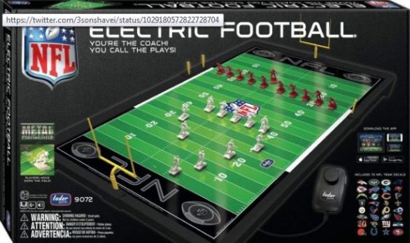 Parenting Healthy Electric Football Game Giveaway