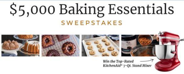 America's Test Kitchen $5,000 Baking Essentials Sweepstakes