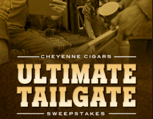 Cheyenne Cigars Ultimate Tailgate Sweepstakes