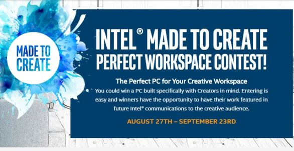 Intel Made to Create Perfect Workspace Contest
