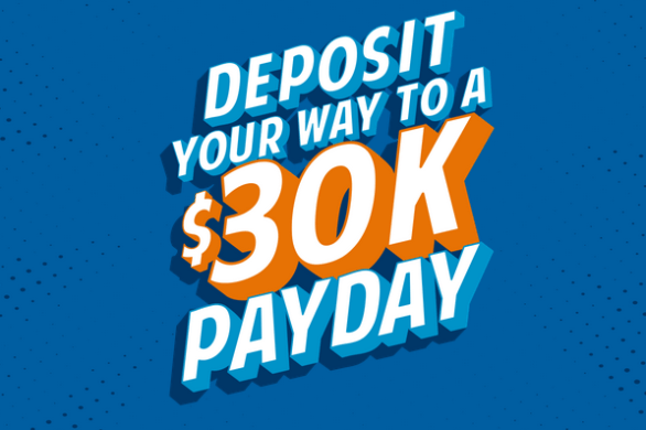 NFCU Deposit Your Way to a $30,000 Payday Sweepstakes