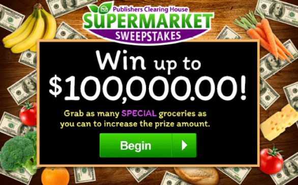 Publishers Clearing House Supermarket Sweepstakes