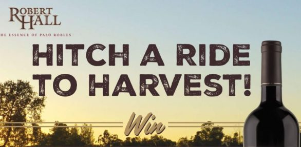Robert Hall Hitch a Ride to Harvest Sweepstakes