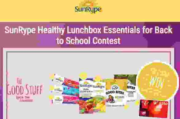 SunRype-Back-to-School-Contest