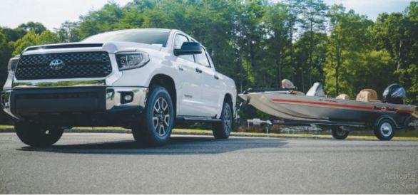 Toyota Tundra & Bass TRACKER Heritage Fishing Boat Sweepstakes