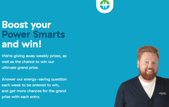 BC Hydro Boost your Power Smarts Contest