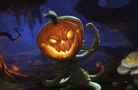 Blizzard Halloween Pumpkin Carving Contest