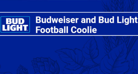 Bud Light Football Coolie Sweepstakes