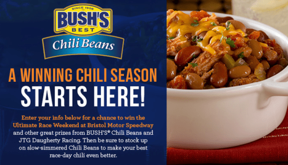Bush's For The Win Sweepstakes