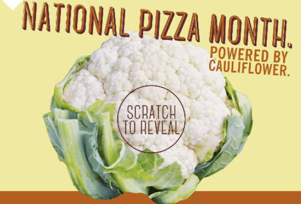CPK National Pizza Month Sweepstakes