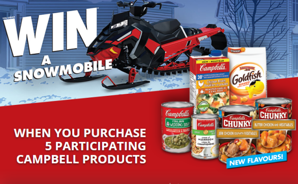 Campbell's Snowmobile Contest