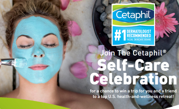 Cetaphil Self-Care Celebration Sweepstakes