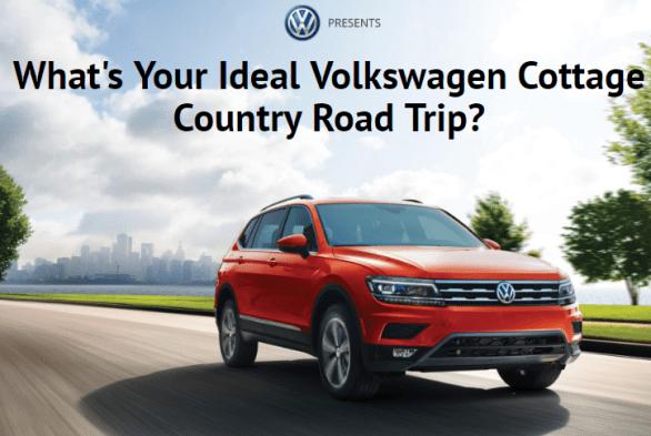 Cottage Life Volkswagen Contest