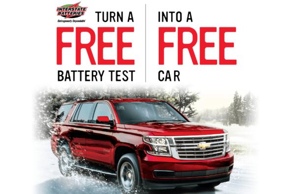 Free Test, Free Car Sweepstakes