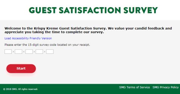 Krispykremelistens.com Survey Sweepstakes