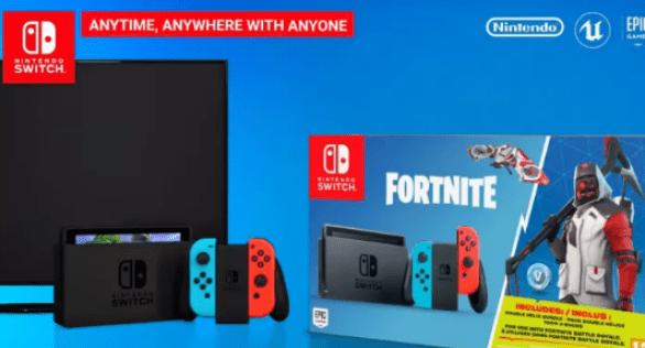 Nintendo Switch Fortnite Bundle Giveaway