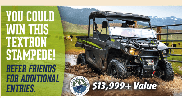 Union Sportsmen Refer-A-Friend Sweepstakes