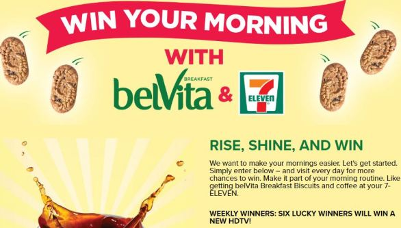 Win Your Morning with BelVita and 7-Eleven Instant Win Game