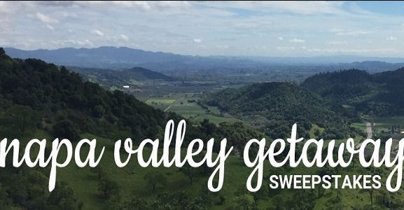 CHEFS Catalog Napa Valley Getaway Sweepstakes