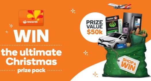 Woolworths Rewards Christmas Competition