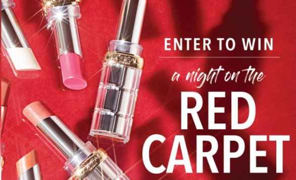 A Night on the Red Carpet with L'Oréal Paris Sweepstakes