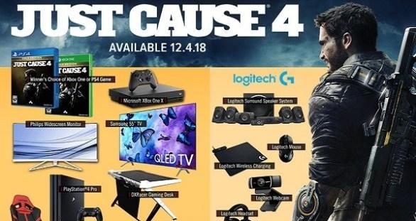 Gamestop PowerUp Rewards Just Cause 4 Sweepstakes