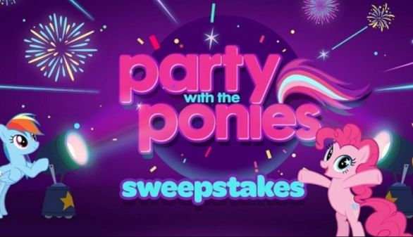 Discovery Family channel Party With The Ponies Sweepstakes
