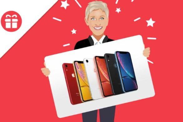 Ellen Apple iPhone XR Giveaway