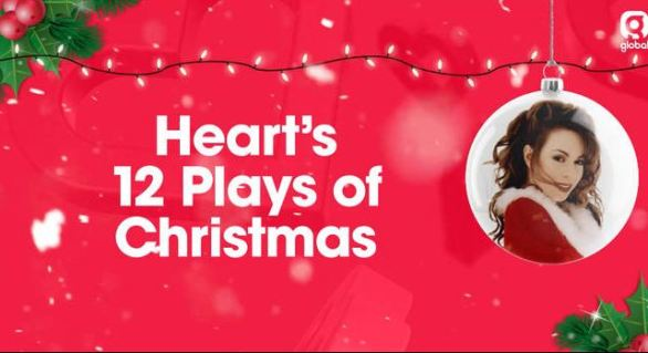 Heart 12 Plays of Christmas Competition