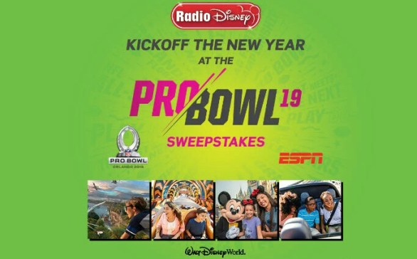 Radio Disney Kickoff the New Year at the NFL Pro Bowl Sweepstakes