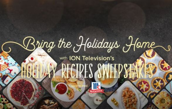 ION Television Holiday Recipe Sweepstakes