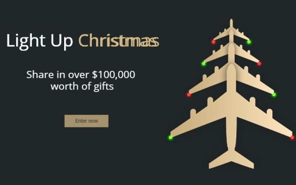 Melbourne Airport Lighting up Christmas Competition