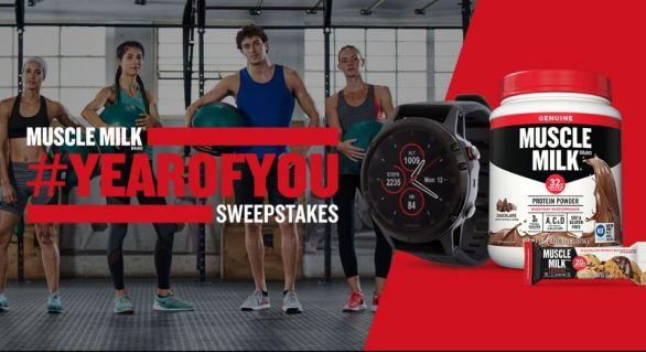 Muscle Milk Brand Year of You Sweepstakes