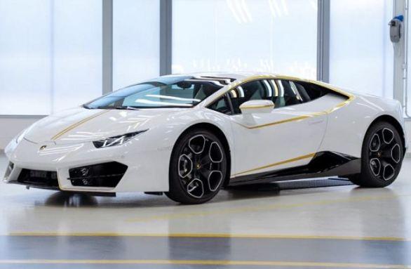 Omaze Pope Francis Lamborghini Sweepstakes