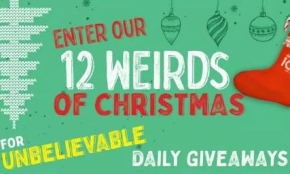 Ripley 12 Weirds Of Christmas Giveaways