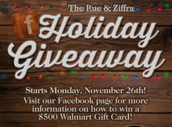 Rue & Ziffra Holiday Giveaway