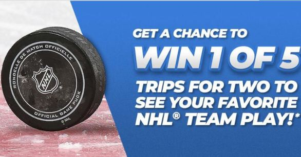 Travel Nation Hockey Sweepstakes
