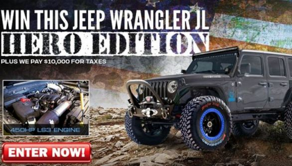 Ultimate Jeep Dream Giveaway