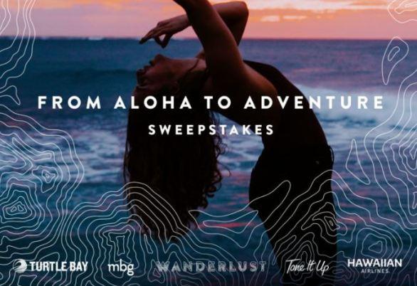 Wanderlust Aloha to Adventure Sweepstakes