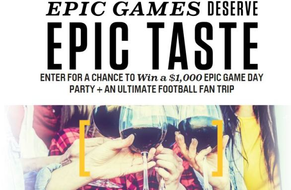 Yellow Tail Epic Taste Sweepstakes