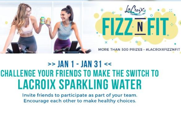 LaCroix-FizzNFit-Sweepstakes