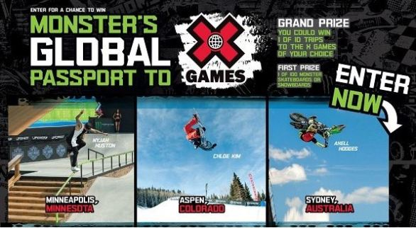 Monsterenergy-XGAMES-Sweepstakes