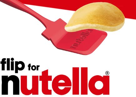 Nutella Flip to Win Contest