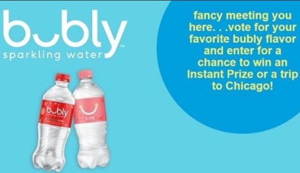 SodexoBubly-Flavor-Voting-sweepstakes