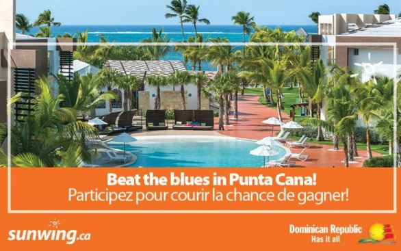 Sunwing-Beat-The-Blues-in-Punta-Cana-Contest