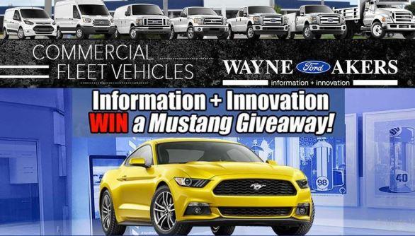 Wayne Akers Ford Mustang Giveaway