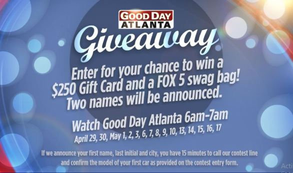 Fox5-Good-Day-Atlanta-Giveaway