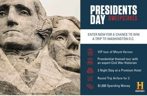 History-Presidents-Sweepstakes