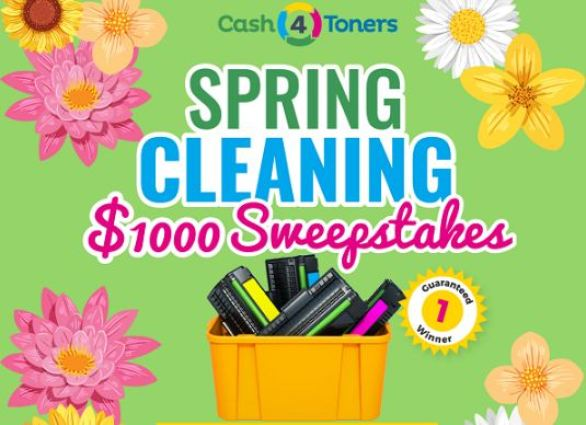 Cash4toners-Spring-Cleaning-Sweepstakes