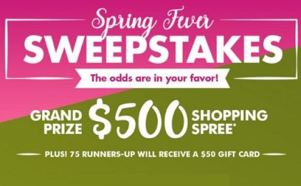 Dollartree-Spring-Fever-Sweepstakes